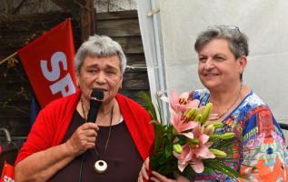 Sonja Höcherl und Ingrid Lay