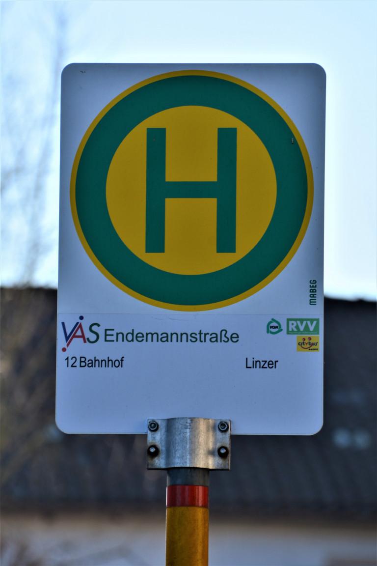 Haltestelle Endemannstraße