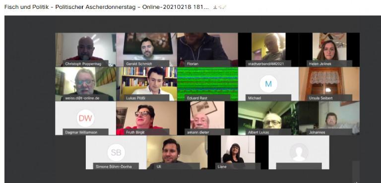 Ascherdonnerstag 2021 - online